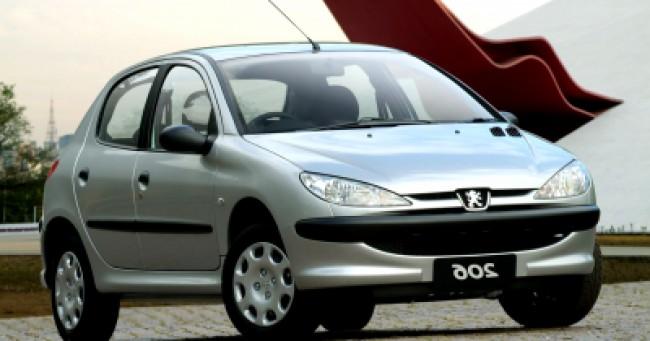 Cotação de seguro Peugeot 206
