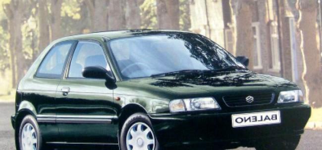 Cotação de seguro Suzuki Baleno Hatch