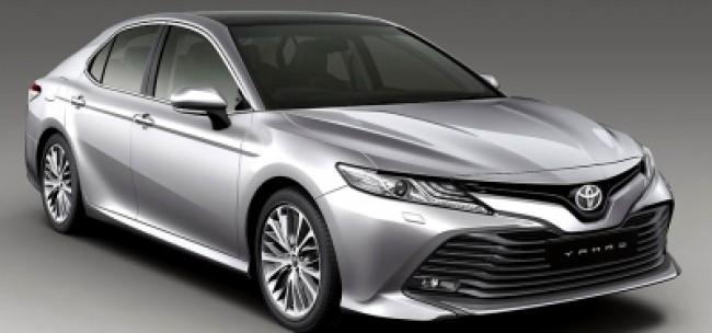 Cotação de seguro Toyota Camry