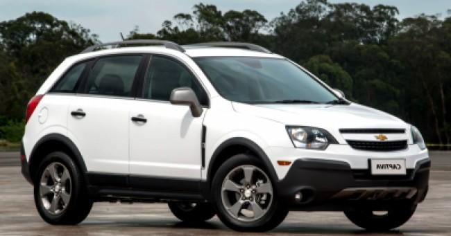 Cotação de seguro Chevrolet Captiva