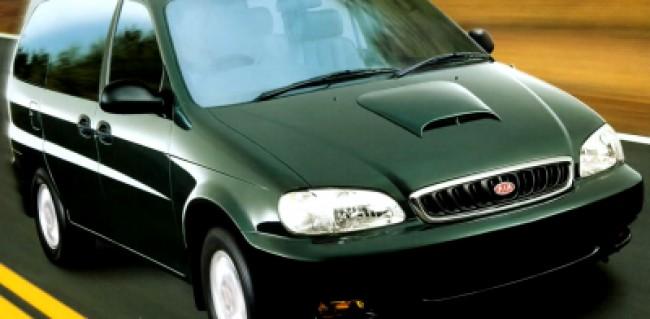 Seguro Carnival GS 2.9 Turbo 2001