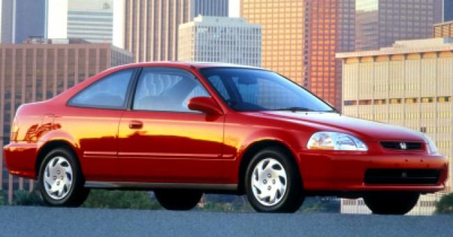 Seguro Civic Coupe EX 1.6 1997