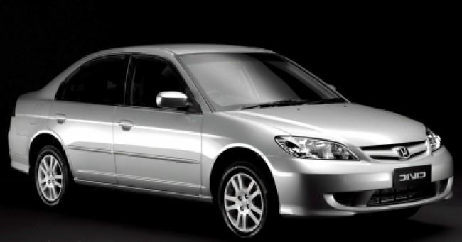 Cotação de seguro Civic LX 1.7