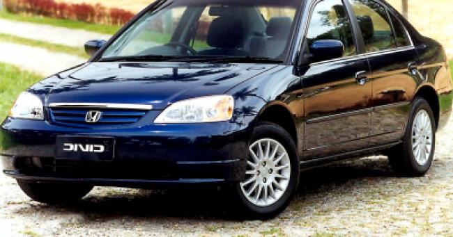 Seguro Civic LX 1.7 AT 2002