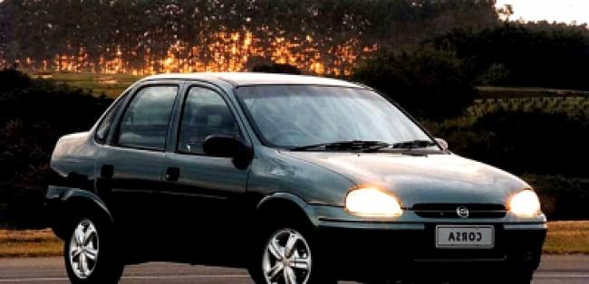 Cotação de seguro Corsa Sedan GL 1.6 AT