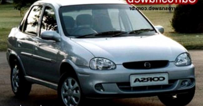 Cotação de seguro Corsa Sedan GLS 1.6 16V