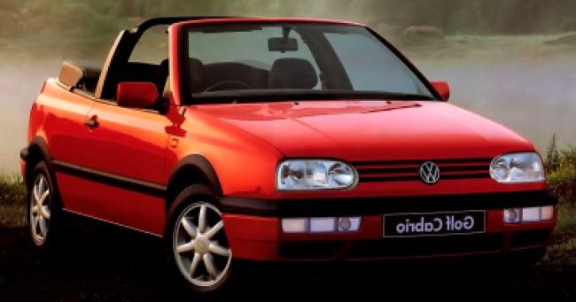 Seguro Golf GTi Cabriolet 2.0 1996