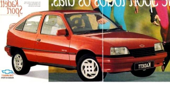 Seguro Kadett Sport 2.0 1996