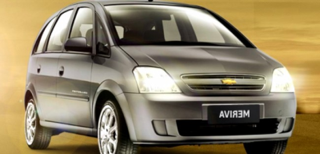 Cotação de seguro Chevrolet Meriva