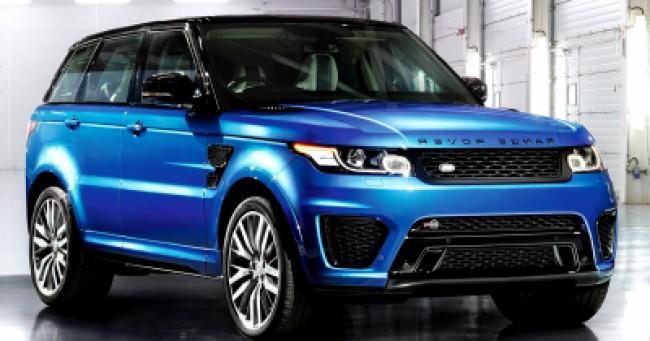 Cotação de seguro Range Rover Sport SVR 5.0 V8