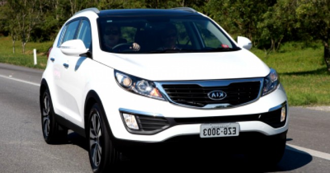 Seguro Sportage EX 2.0 4x4 AT 2013