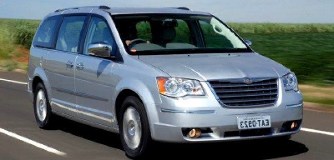 Seguro Town Country Limited 3.8 V6 2008