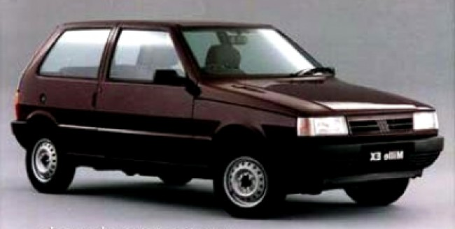 Seguro Uno Mille EX 1.0 1999